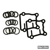 KIT JOINTS DE TIGES DE CULBUTEURS ET EMBASE - TWIN CAM 99UP - CAOUTCHOUC - GENUINE JAMES GASKETS