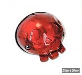 FEU ARRIERE CHOPPER / HOT ROD - Moon - Skull