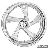 AR - 17 X 6.00 - ROUE PERFORMANCE MACHINE / ROLAND SANDS DESIGN - TOURING 09UP ABS - ELEMENT - CHROME
