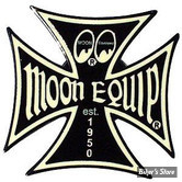 PIN'S / HAT PIN - MOON - IRON CROSS