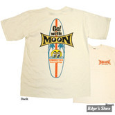 TEE-SHIRT - MOON - MOON KIDS SURFBOARD - TAILLE 3 - 7/8 ANS - M