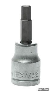"Embout ALLEN / BTR US - 5.6MM / 7/32"" - CARRE DE 3/8"" - Teng Tools"