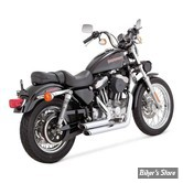ECHAPPEMENTS VANCE & HINES SHORTSHOTS STAGGERED - SPORTSTER 99/03 - CHROME - 17223