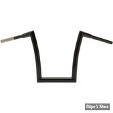 "38MM INTÉGRAL - 1 1/2"" - GUIDON TODDS CYCLE - STRIP - NOIR BRILLANT"