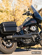 - ECHAPPEMENT THUNDERHEADER - SOFTAIL FLFB/FXBR 18UP - X-SERIES HIGH PIPE 2EN1 - NOIR - 1361XB