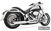 ECHAPPEMENT FREEDOM PERFORMANCE - UNION - 2 EN 1 - SOFTAIL 86/17 - CHROME