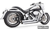 ECHAPPEMENT FREEDOM PERFORMANCE - AMENDEMENT - 2 EN 2 - SOFTAIL 86/17 - CHROME
