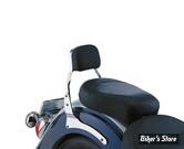 SISSY BAR - COBRA - HONDA VT 1100 SHADOW SPIRIT 01/07 - SQUARE - HAUTEUR : MINI - CHROME
