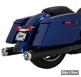 SILENCIEUX - VANCE & HINES - MONSTER ROUND SLIP-ONS - TOURING 17UP MILWAUKEE-EIGHT® - NOIR - 46780