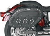 SACOCHES - SADDLEMEN - S-4 RIGID MOUNT QUICK-DETACH SLANT SADDLEBAG - DESPERADO - DYNA 96UP