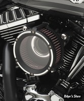 - FILTRE À AIR TRASK PERFORMANCE - ASSAULT CHARGE HIGH-FLOW AIR CLEANER - TOURING 08/16 / SOFTAIL 16/17 / DYNA FXDLS 16/17 - REVERSE CUT
