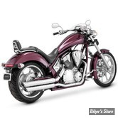 SILENCIEUX VANCE & HINES - TWIN SLASH - HONDA FURY / INTERSTATE / SABRE / STATELINE 10UP - CHROME