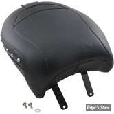 SELLE MUSTANG - CHIEF / CHIEFTAIN 14UP - SOLO TOURING - STUDDED LISSE AVEC RIVETS : POUF PASSAGER - 79763