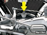 CACHE EMBASES DE CYLINDRES KURYAKYN - BIGTWIN 84/99 - CHROME - 8140