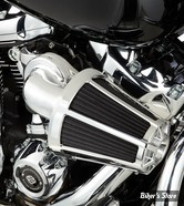 - FILTRE A AIR - ARLEN NESS -  Monster Sucker Air Cleaner - TOURING 08/16 / SOFTAIL 16/17 / DYNA FXDLS 16/17 - AVEC COUVERCLE - CHROME - 81-028