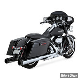 SILENCIEUX VANCE & HINES HI-OUTPUT - CHROME - EMBOUT CARBONE - 16465