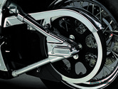 X / CACHES BRAS OSCILLANT SOFTAIL - KURYAKYN - SWING-ARM COVER - Softail 00/07 - NON ECLAIRE - 8256