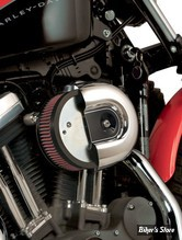 - FILTRE A AIR - ARLEN NESS - STAGE 1 - SPORTSTER 88UP - COUVERCLE OEM - FILTRE STANDARD - PLAQUE Alu - 18-824