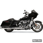 "SILENCIEUX - BASSANI - TOURING 17UP MILWAUKEE-EIGHT® - 4"" DNT® MEGAPHONE MUFFLERS - CORPS : CHROME / EMBOUTS : POLI"