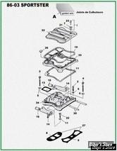 ECLATE D - PIECE N° 00 - ECLATE PIECES CULBUTEURS - SPORTSTER 883/1200 86/03