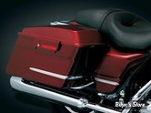 ACC - ENJOLIVEURS DE SACOCHES - KURYAKYN - TOURING 93/08 - SIDE COVER & SADDLEBAG ACCENTS - CHROME - 8645 (6 pièces)