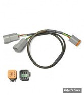 - POWERVISION DYNOJET : CABLE DE REMPLACEMENT - REPLACEMENT Y-ADAPTER CABLE - 76950389