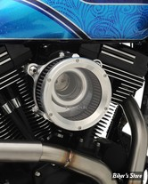 - FILTRE A AIR - TRASK PERFORMANCE - ASSAULT CHARGE HIGH-FLOW AIR CLEANER - TOURING 02/07 / SOFTAIL 01/15 / DYNA 04/17 / TWINCAM CARBU CV 99/06 - ALU BRUT
