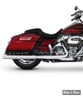 "SILENCIEUX - RINEHART RACING - TOURING 17UP - MUFFLER SLIP-ON 4"" - CHROME / EMBOUT : CHROME STANDARD - 500-0106C"