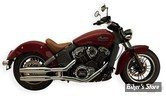 "SILENCIEUX SUPERTRAPP - 3"" TAPERED - INDIAN SCOUT - CHROME"
