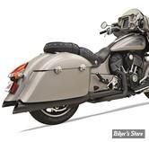 ECHAPPEMENTS - INDIAN CHIEF / CHIEFTAIN / ROADMASTER - BASSANI - True Duals Exhaust System - NOIR - 8C16BSB