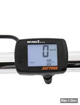 -  DAYTONA - COMPTEUR DIGITAL DAYTONA - NANO-II  DIGITAL LCD SPEEDOMETER - 86596