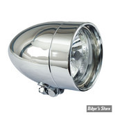 4 / PHARE BULLET T-Bone - Avec Optique Diamond - CHROME