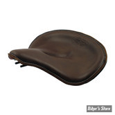 ECLATE T - PIÈCE N° 01 - SELLE SOLO TYPE OEM MESSINGER NO. 3 - SAMWEL SUPPLIES - MARRON FONCE