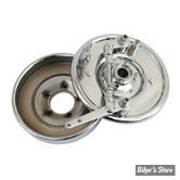 ECLATE H - PIECE N° 18 - Tambours de frein assemblés Replica - Avant - Double Came - 37/48 - Chrome