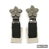 CLIPS DE PANTALON - RYDER CLIPS - FLOWER