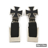 CLIPS DE PANTALON - RYDER CLIPS - MALTESE CROSS