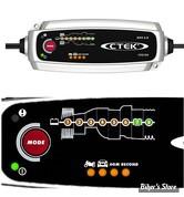 CHARGEUR DE BATTERIE - CTEK - MXS 5.0 BATTERY CHARGER - EUROPE - CHARGEMENT / ENTRTETIEN - 56-305