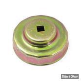Clef de filtre à huile - 14 FACES - zinc