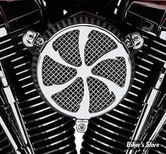 FILTRE A AIR COBRA - TOURING 08/16 / SOFTAIL 16/17 / DYNA FXDLS 16/17 - NAKED - SWEPT - CHROME