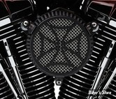 FILTRE A AIR COBRA - TOURING 08/16 / SOFTAIL 16/17 / DYNA FXDLS 16/17 - NAKED - CROSS - NOIR
