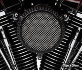 FILTRE A AIR COBRA - TOURING 08/16 / SOFTAIL 16/17 / DYNA FXDLS 16/17 - NAKED - PLAIN - NOIR
