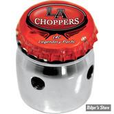 TIRETTE DE STARTER - KEIHIN CV - L.A CHOPPERS - BOTTLE CAP - CHROME