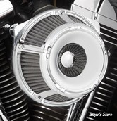 - FILTRE A AIR - ARLEN NESS - TOURING 02/07 / SOFTAIL 01/15 / DYNA 04/17 / TWINCAM CARBU CV 99/06 - INVERTED AIR CLEANER KIT - SLOT TRACK - CHROME - 18-922