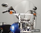 PARE BRISE NATIONAL CYCLE - SWITCHBLADE CHOPPED - DYNA 06UP / FXBB / FXLR / FXCWC - TEINTE : CLAIR - N21431