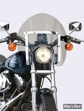 PARE BRISE NATIONAL CYCLE - SWITCHBLADE SHORTY - DYNA 06UP / SOFTAIL FXCW/C - TEINTE : GRIS 30% - N21732