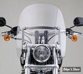 """PARE BRISE NATIONAL CYCLE - SPARTAN - DYNA / SOFTAIL / FXDWG / FXWG - HAUTEUR : 16.25"""" - N21301"""