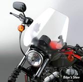 PARE BRISE NATIONAL CYCLE - Deflector Screen™; QuickSet™ - DETACHABLE - POUR GUIDON DE : 25.40MM  - COULEUR  : CLAIR - N25042