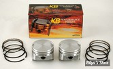 ECLATE G - PIECE N° 19 - Kit pistons Keith Black (KB) - BigTwin Evolution 84/99 1340cc - 8.5:1 - +0.000