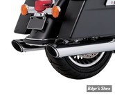 SILENCIEUX - VANCE & HINES - TWIN SLASH ROUND SLIP-ONS - TOURING 17UP MILWAUKEE-EIGHT® - 16772