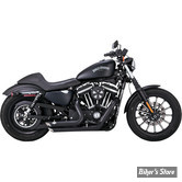 ECHAPPEMENTS VANCE & HINES SHORTSHOTS STAGGERED - SPORTSTER 14up - NOIR - 47229